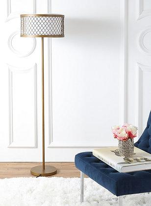 EVIE 58.25-INCH H MESH FLOOR LAMP - SAF