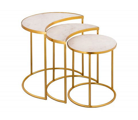 CRESCENT NESTING TABLES BY INSPIRE ME! HOME DECOR - TOV