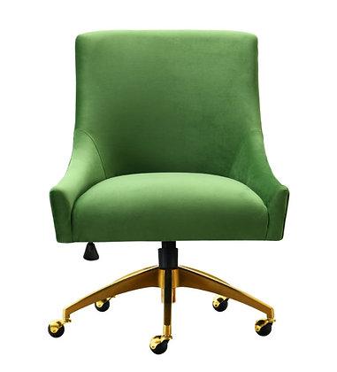 BEATRIX GREEN OFFICE SWIVEL CHAIR - TOV