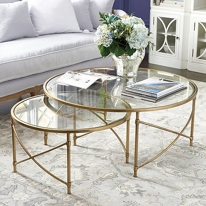 Maxwell Nesting Coffee Tables - Set of 2 - BD