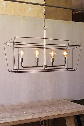 Rectangle Iron Bar Pendant Light - KAL
