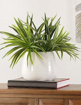 FAUX ORCHID POTTED PLANT - SAF
