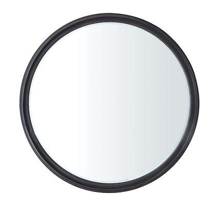 Round Metal Framed Wall Mirror - CC