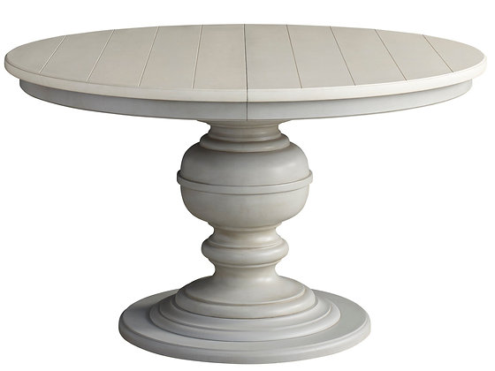 SH FRENCH GRAY ROUND DINING TABLE - UF