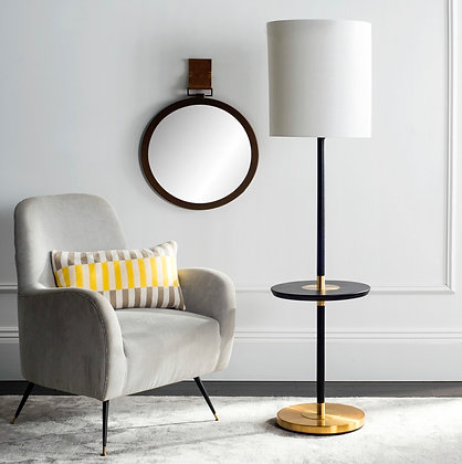 JANELL 65-INCH END TABLE FLOOR LAMP