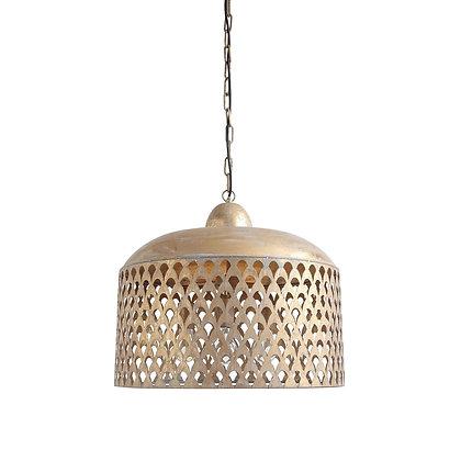 Metal Pendant Lamp w/ Gold Finish - CC