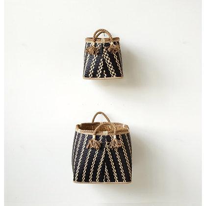 Wicker Baskets w/ Rope Handles  - CC