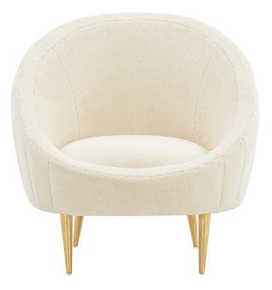 Razia Channel Tufted Tub Chair - SAF