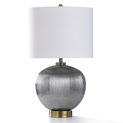 DAVENTRY SILVER TABLE LAMP - SC