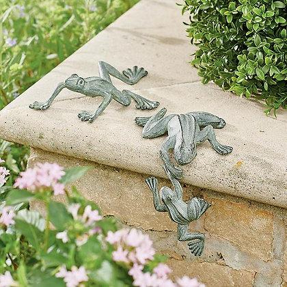 Frog Garden Statues - GR