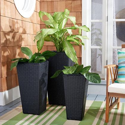 Lendson 3 Piece Flower Pot Set - SAF