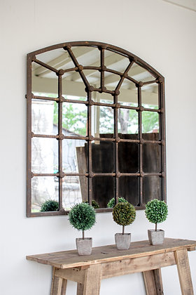 Arched Iron Mirror - KAL