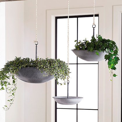 Harlow Hanging Planters - Assorted Set of 3 - BD