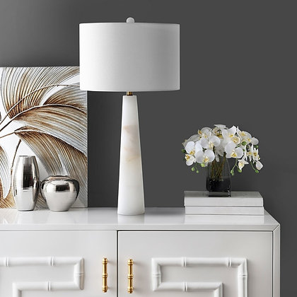 DELILAH ALABASTER TABLE LAMP - SAF