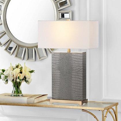 JOYCE 27.75-INCH H FAUX ALLIGATOR TABLE LAMP - Set of 2 - SAF