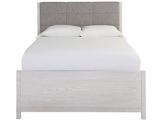 UPHOLSTERED QUEEN BED - UF