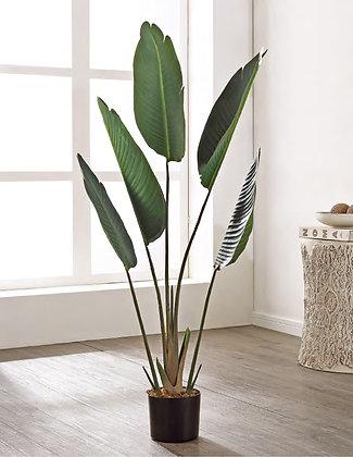 FAUX GLADIOLUS POTTED PLANT - SAF