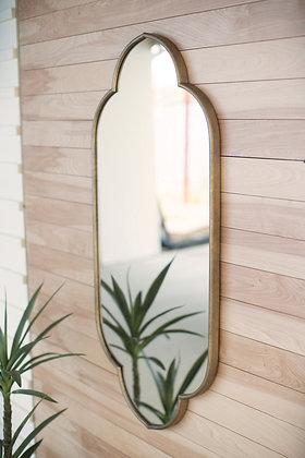 Large Metal Framed Mirror - KAL