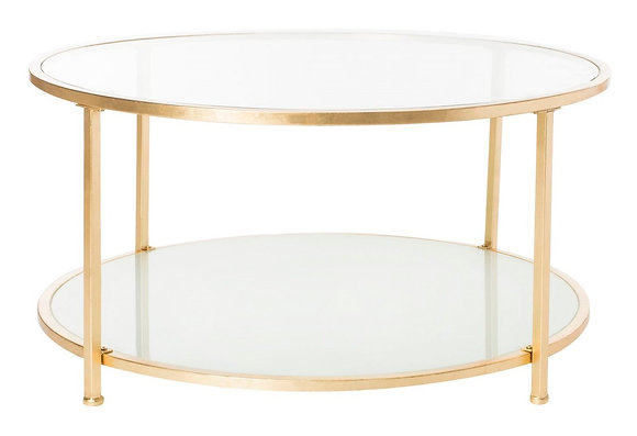 Ivy 2 Tier Round Coffee Table - SAF