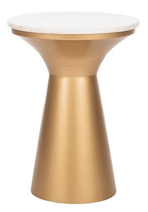 Mila Pedestal End Table - SAF