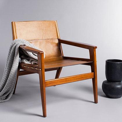 Culkin Leather Sling Chair - SAF