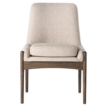 Olena Mid Century Beige Cedar Side Chair - KK