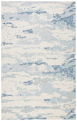 Abstract Collection Ivory/Blue - SAF