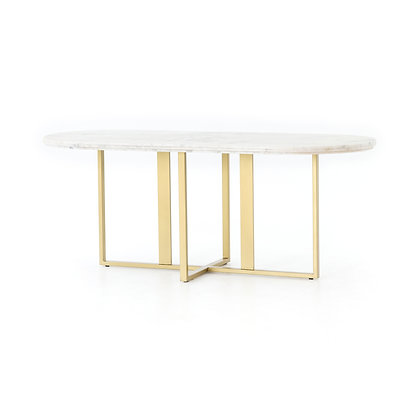 DEVAN OVAL DINING TABLE - 4H