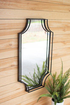 Metal Framed Wall Mirror - KAL