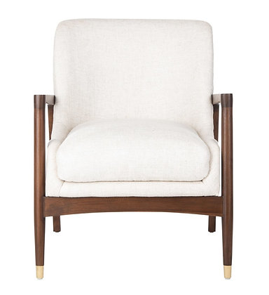 Flannery Mid- Century Accent Chair - SAF