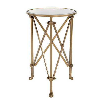 Olivia Mirrored Side Table - BD