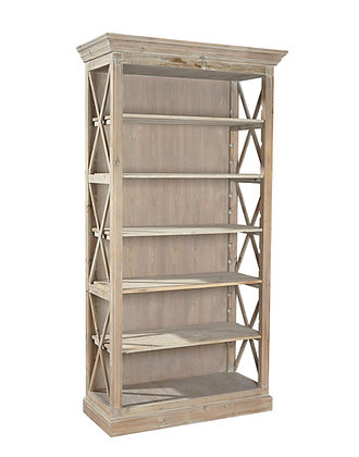 Weathered Open Bookcase - FC