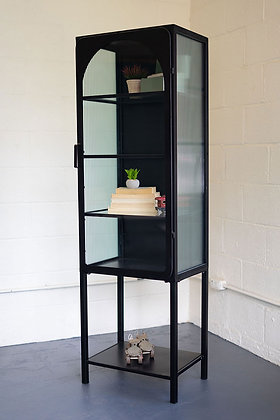 Iron And Glass Cabinet - KAL