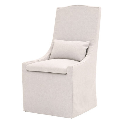ADELE OUTDOOR SLIPCOVER DINING CHAIR - EL
