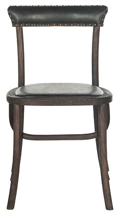 """Kenny 19""""h Side Chair - Brass Nail Heads - Set of 2 - SAF"""