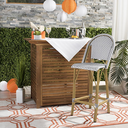 Ford Indoor / Outdoor Stacking French Bistro Bar Stool - SAF