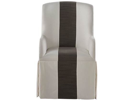 SLIP COVER CASTER ARM CHAIR - UF