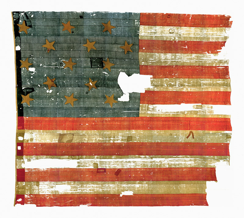 Oh, say does that star-spangled banner yet wave O'er the land of the free and the home of the brave?
