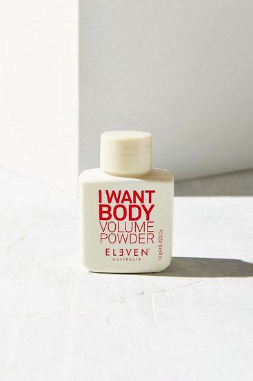 I Want Body Volume Powder 9g