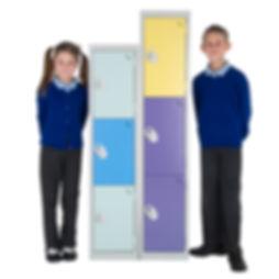 Lockers for primary school children