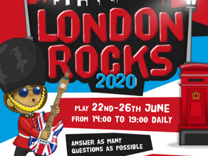 Y1 Y2 Y3 Y4 Y5 Y6 London Rocks 2020! Maths Week London
