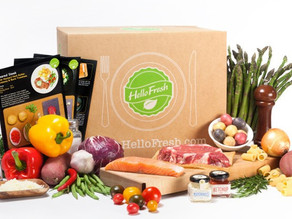 Win a Hello Fresh box - competition extended!