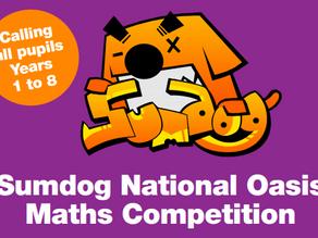 Y1 Y2 Y3 Y4 Y5 Y6 Sumdog Contest Results