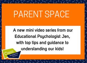 Parent Space: Video #2