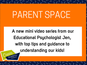 Parent Space: Video #2