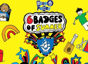 Blue Peter 6 badges of Summer