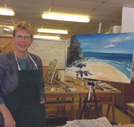 Introduction to oils with Sandie Youngson