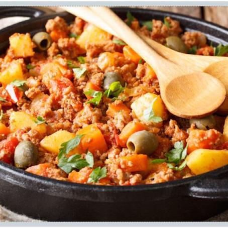 Recipe: Slow Cooker Turkey Picadillo