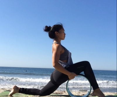 HIIT with a Yoga Wheel