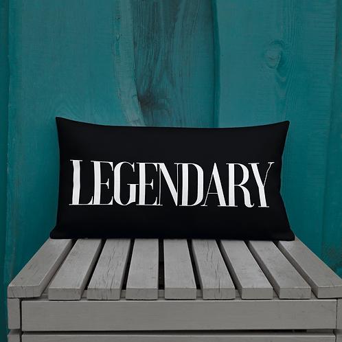 Legendary & Bold Pillow